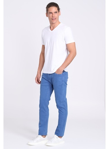 Lufian Denim Pantolon Saks